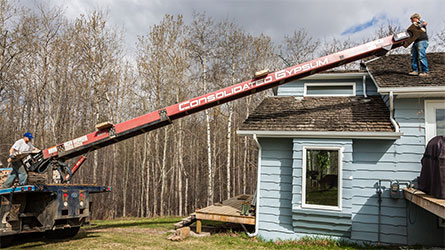 Cleasby Roofing Conveyor